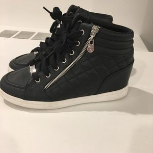 """Guess wedge 4"""" sneakers 7.5"""